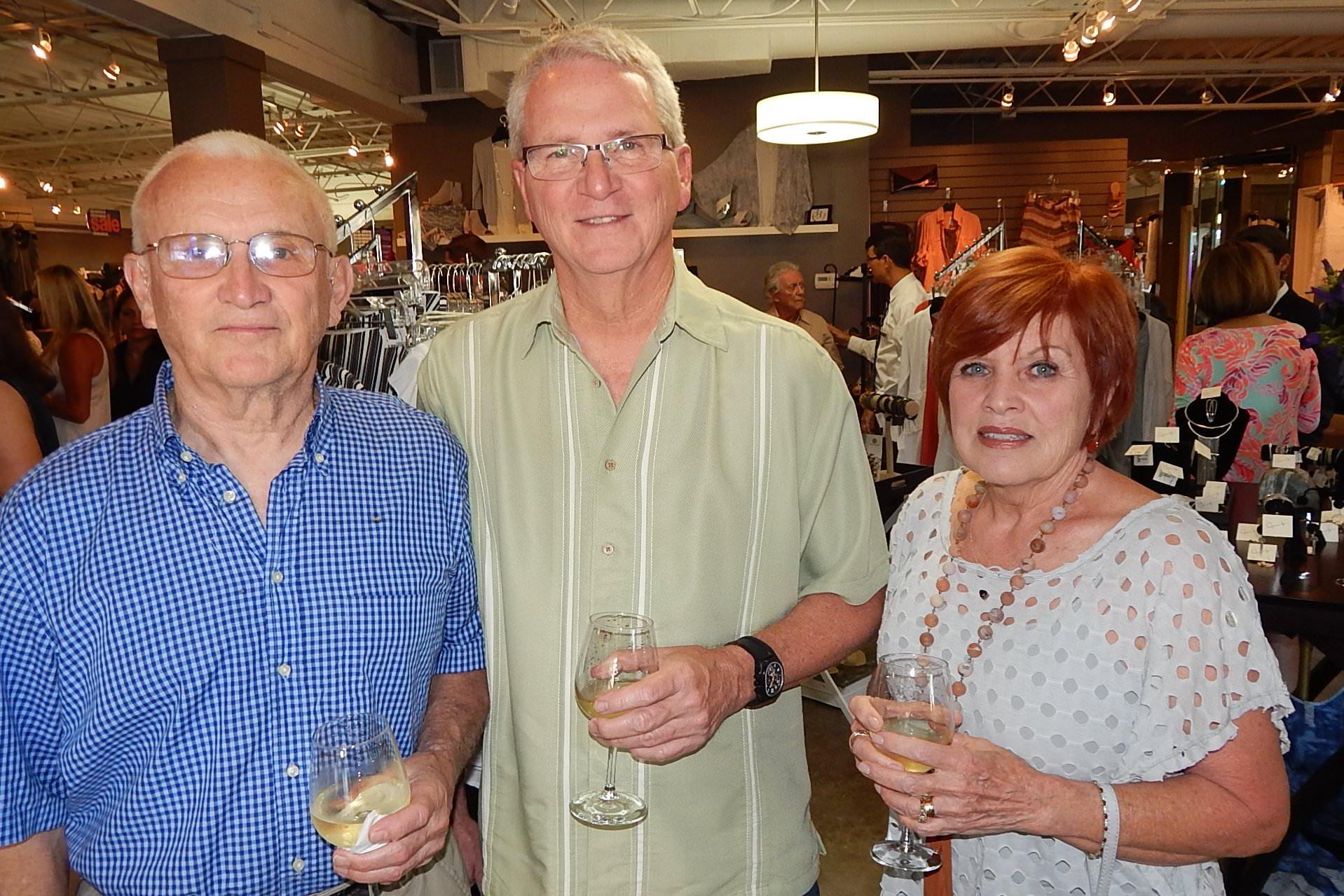 Ron Robbins, Rex and Karen Stubbs