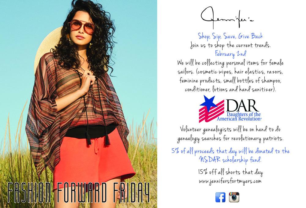 Jennifer's February Fashion Forward Friday to Feature Genealogy Searches