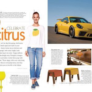 Sundry Sweatshirt Featured in April Grandeur Magazine