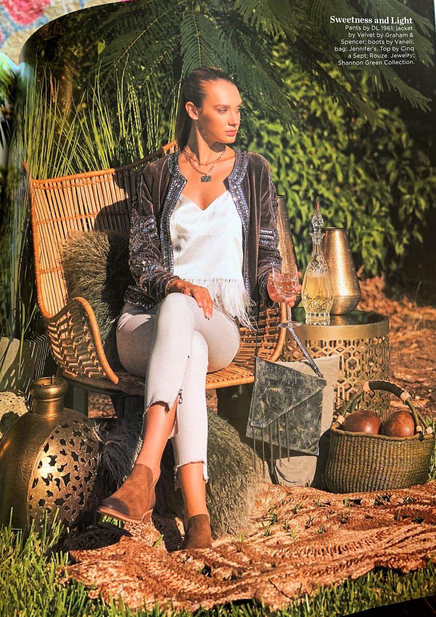 Jennifer's Featured in January Gulfshore Life Magazine