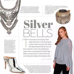 Jennifer's Featured in December Grandeur Magazine