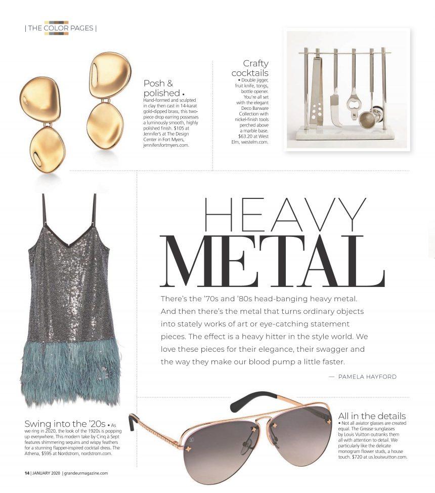 Jennifer's Featured in Grandeur Magazine