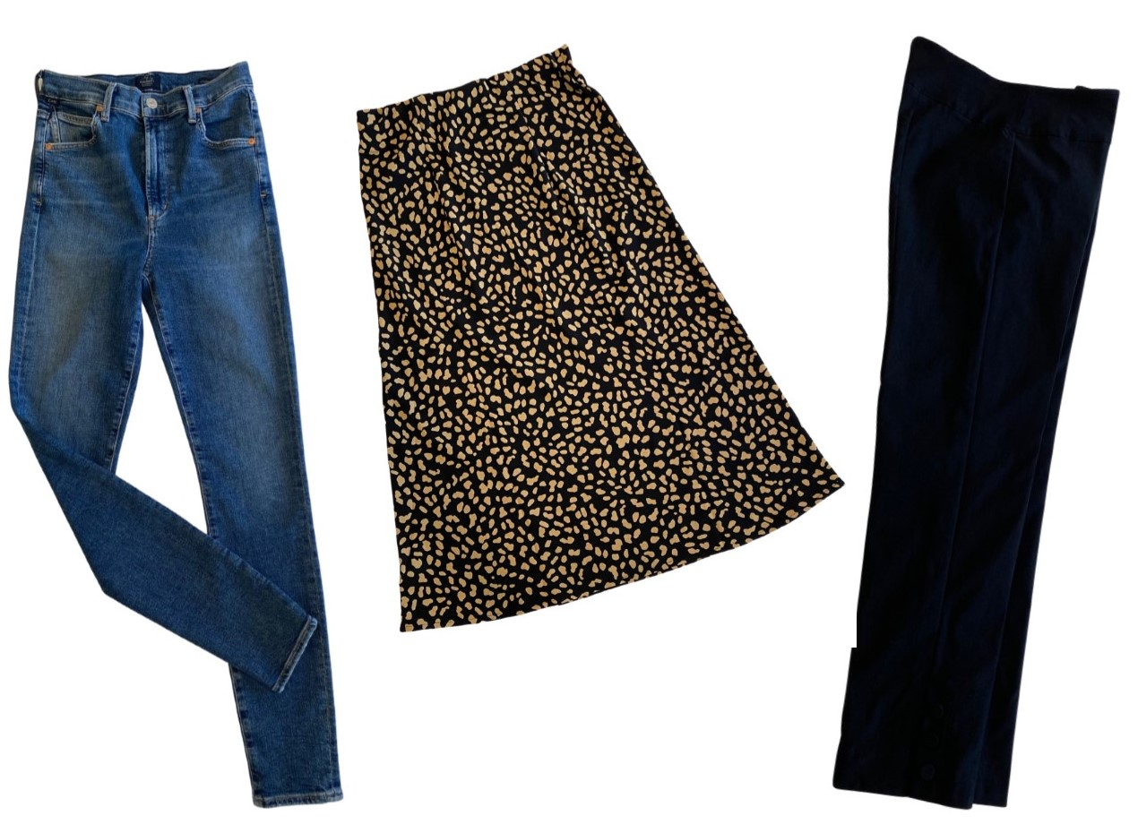 jeants skirt pants