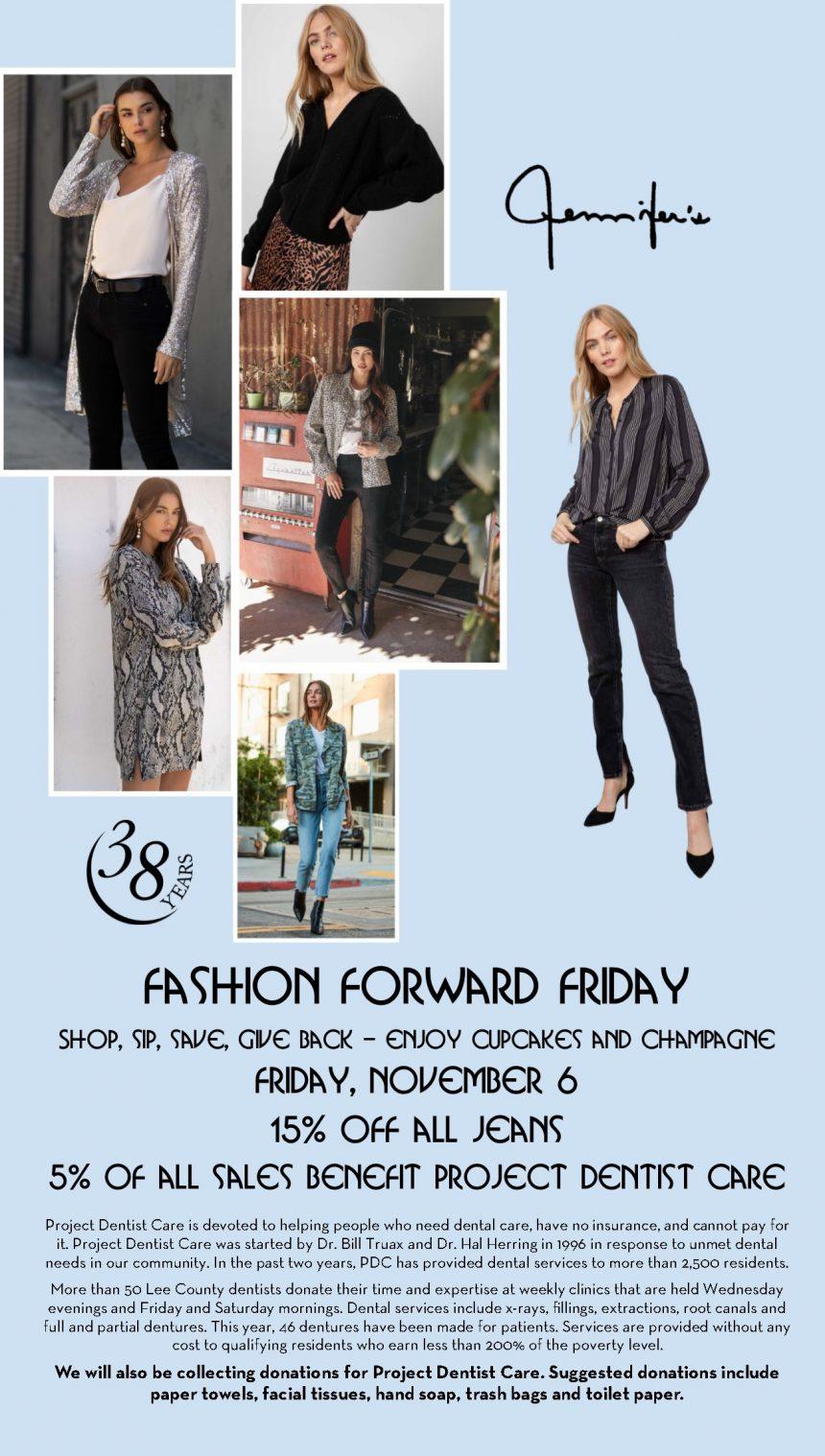 Jennifer's Fashion Forward Friday Benefits Project Dentist Care